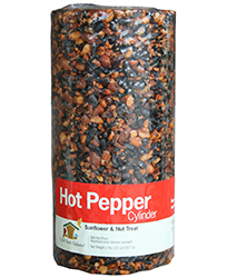 Hot pepper seed cylinder