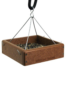 EcoTough Hanging Tray feeder